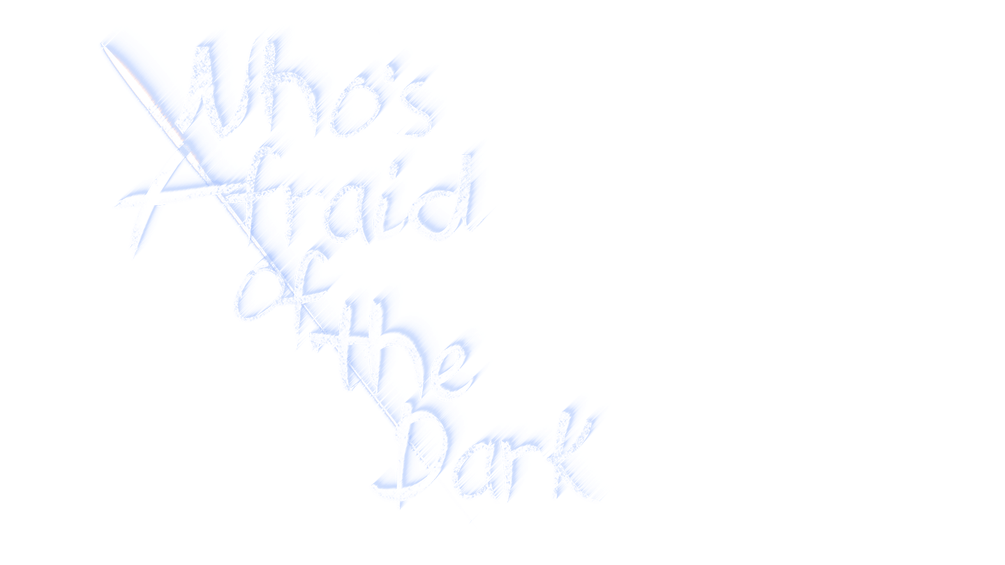 whos afraid of the dark logo